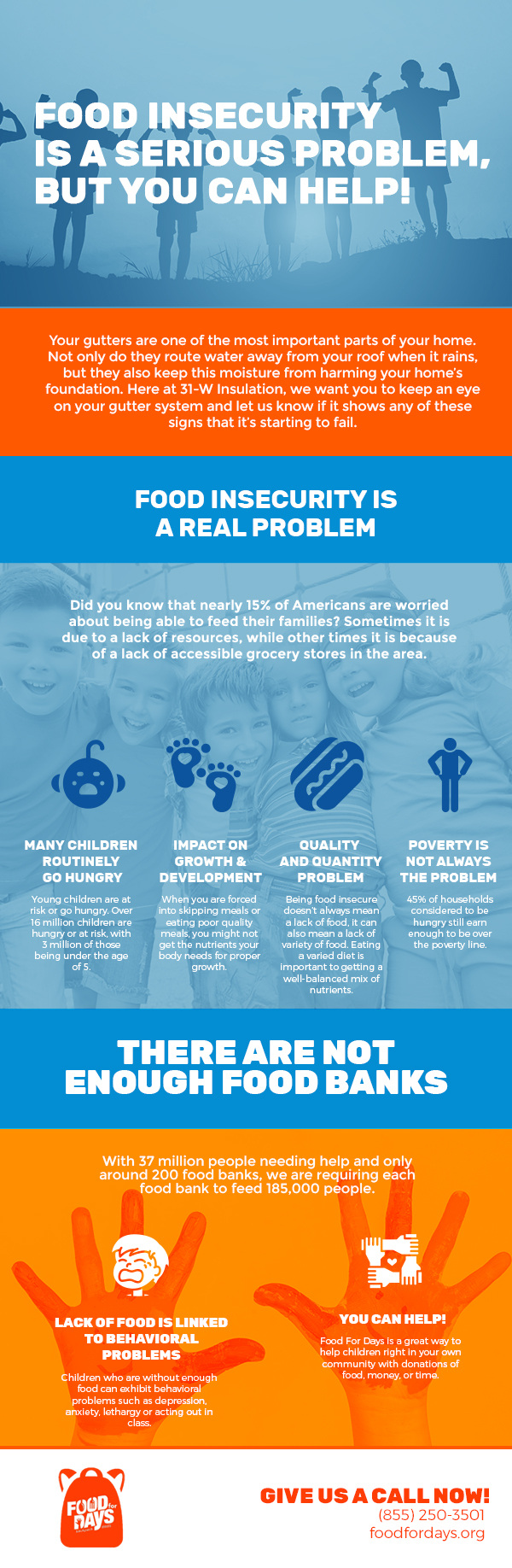 Food Insecurity is a Serious Problem, But You Can Help! [infographic]